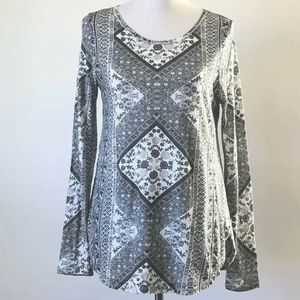 Lucky Brand Long Sleeve Tee Shirt New With Tags